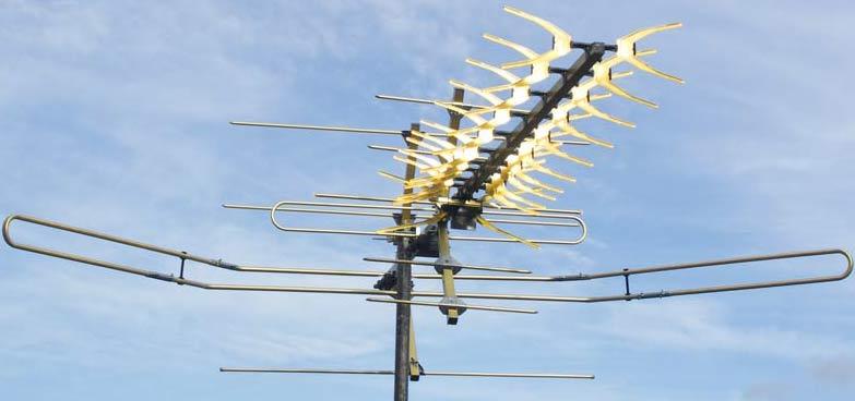 Мощная антенна для тв